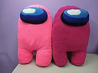 Мягкая Игрушка Амонг Ас для девочек разные цвета эмон гас фиолетовый розовый малиновый