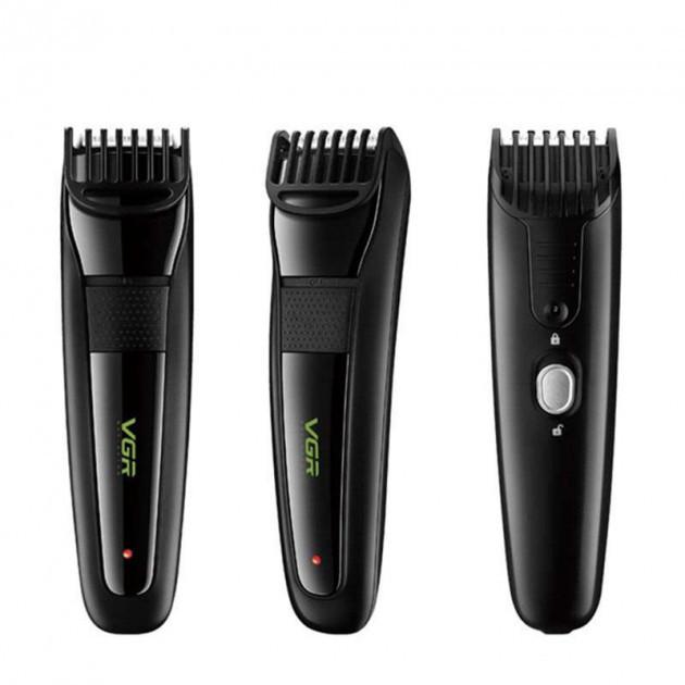 Аккумуляторная машинка для стрижки волос VGR V-015
