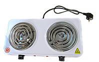 Электроплита двухконфорочная спираль DOMOTEC MS-5802