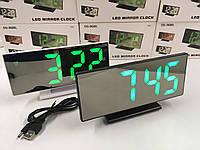 Настольный часы электронные VST-3618L GREEN