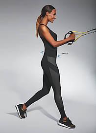 Спортивные женские легинсы BasBlack Misty (original) утягивающие, лосины для бега, фитнеса, спортзала