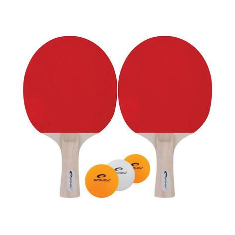 Набор для настольного тенниса Spokey Joy Set 81814 (original), набор для пинг-понга, ракетка+мячик, фото 2