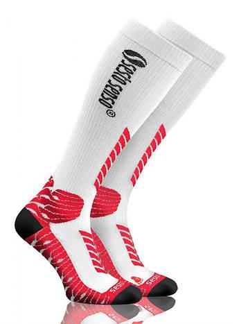 Носки спортивные Sesto Senso Sport Kompression (original) высокие компрессионные для бега, гольфы, фото 2