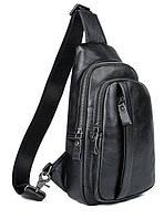 Сумка мужская через плечо Vintage 14974 Черная