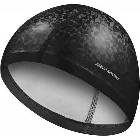 Шапочка для плавания Aqua Speed Flux 7296 (original) тканевая, для бассейна, взрослая, фото 2