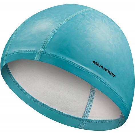 Шапочка для плавания Aqua Speed Flux 7294 (original) тканевая, для бассейна, взрослая, фото 2
