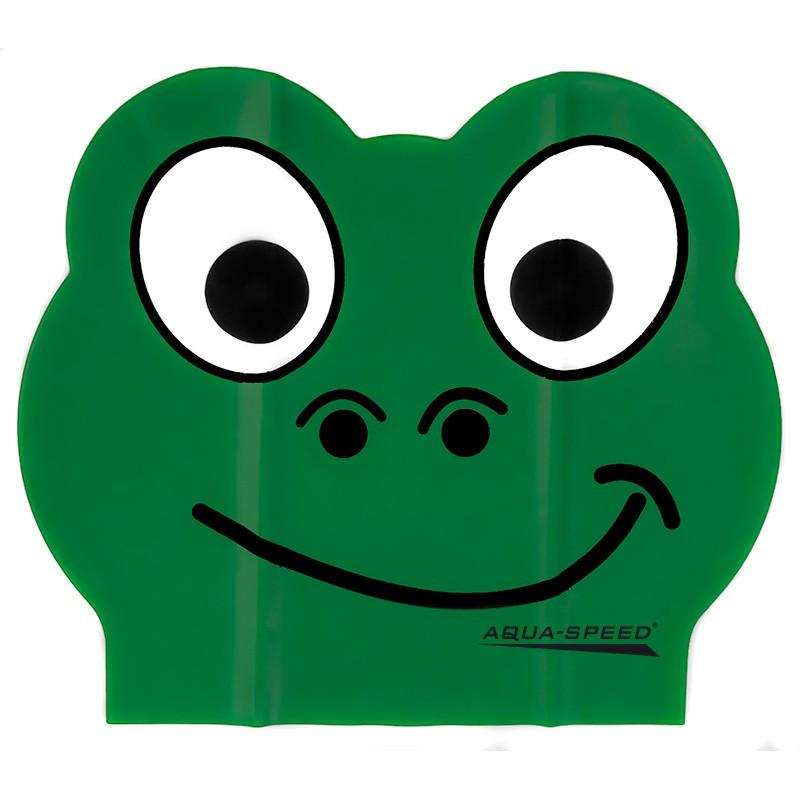 Шапочка для плавания детская Aqua Speed Zoo Latex 5712 (original) для бассейна, латекс