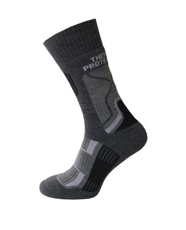 Спортивные треккинговые носки Sesto Senso Trekking Winter (original) с шерстью зимние теплые, термоноски, фото 2