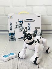 Собака-робот 20173 Интерактивная игрушка Собачка на радиоуправлении Robot Dog со Светом и Звуком, фото 3