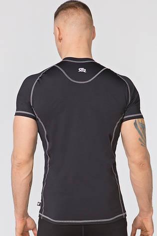 Размер M Компрессионная спортивная футболка Rough Radical Spin SS (original), мужской рашгард, фото 2
