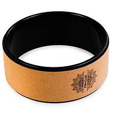 Кольцо для йоги и фитнеса Spokey Czakra 926633 (original), колесо для йоги, йога-кольцо, фото 2