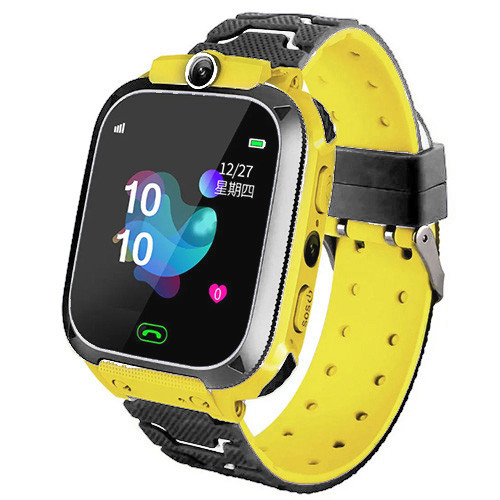 Smart часы детские с GPS TD07S + камера, Yellow