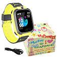 Smart часы детские с GPS TD07S + камера, Yellow, фото 2