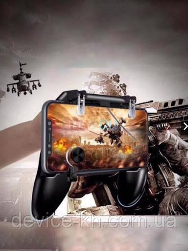 Геймпад триггер Unit W11 Pubg Mobile Controller iOS Android