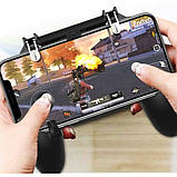 Геймпад триггер Unit W11 Pubg Mobile Controller iOS Android, фото 2