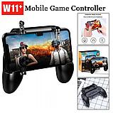 Геймпад триггер Unit W11 Pubg Mobile Controller iOS Android, фото 10