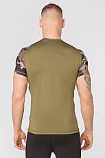 Компрессионная спортивная футболка Rough Radical Furious II SS (original), мужской рашгард с коротким рукавом, фото 3