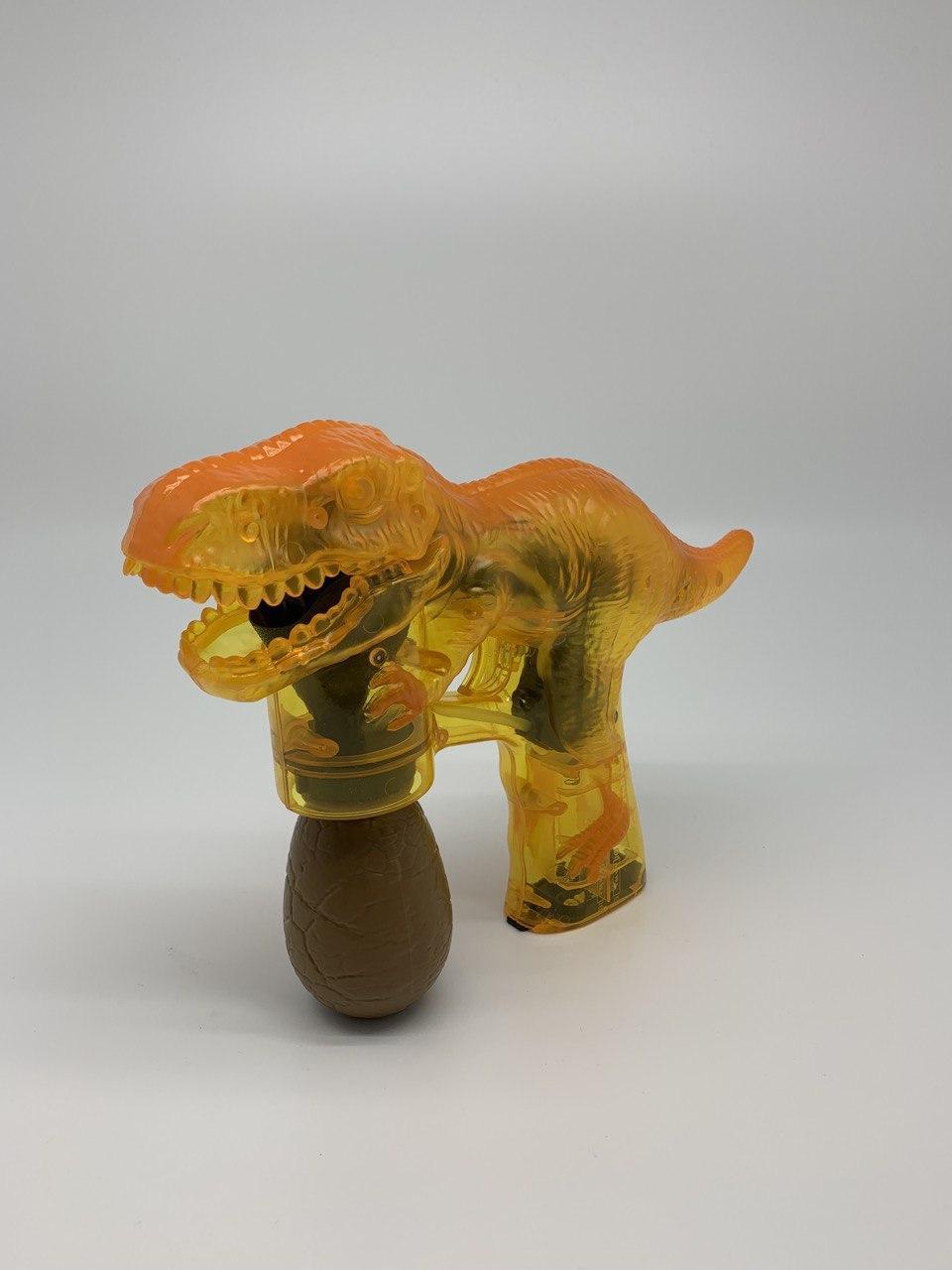 Детский музыкальный пистолет в форме динозавра