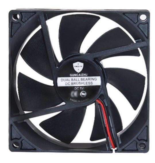 Вентилятор диаметр 90 мм толщина 25 мм питание 12 В