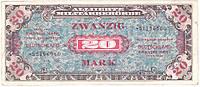 Банкнота Германии 20 марок 1944  г. VF, фото 1