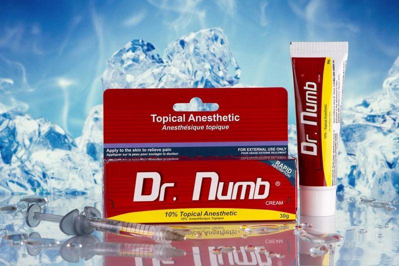 """Анестезия для тату, татуажа, депиляции """"Dr. Numb"""" 30 g"""