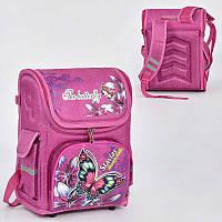 Рюкзак школьный каркасный N 00130 (50) 1 отделение, 3 кармана, спинка ортопедическая