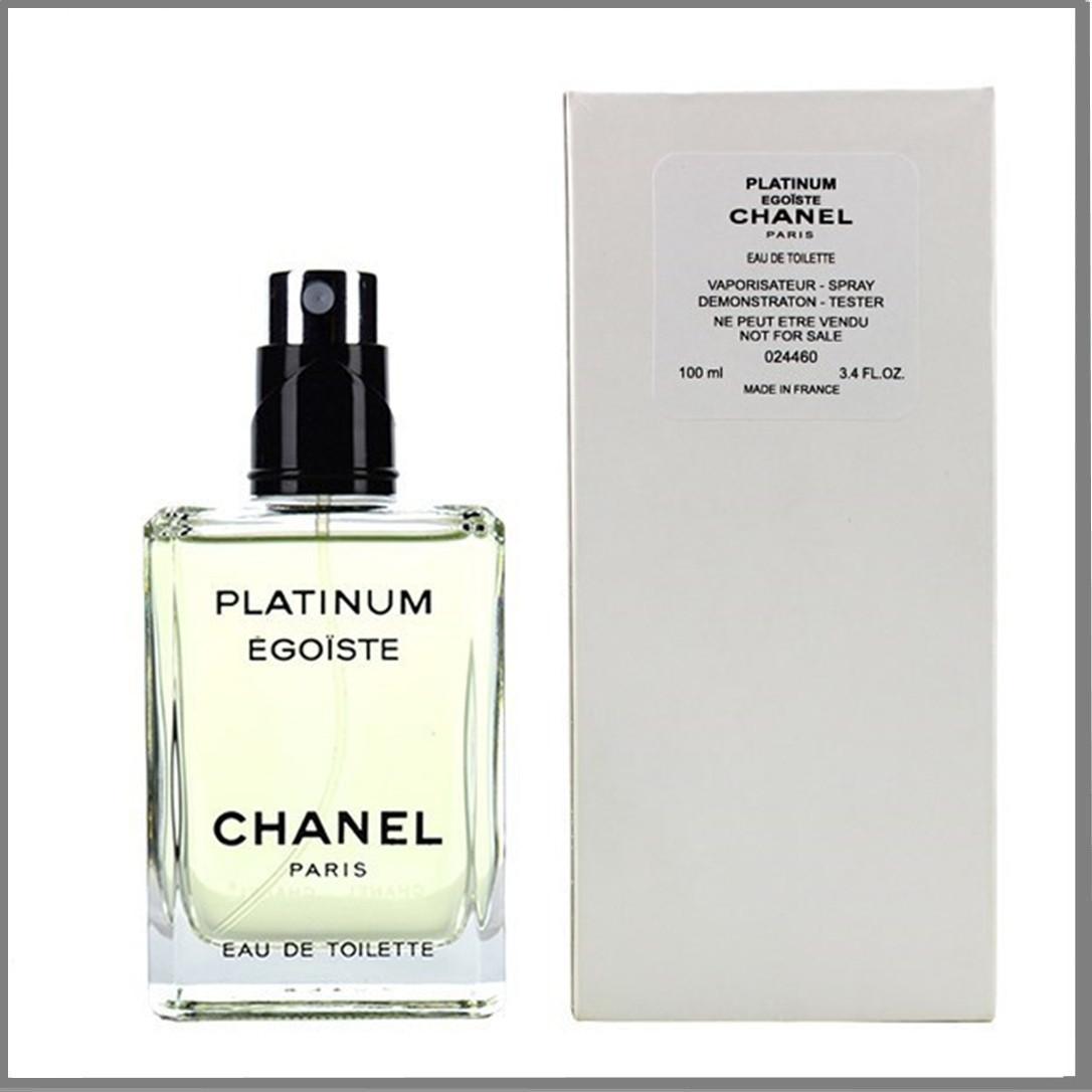 Тестер мужской Chanel Platinum Egoist