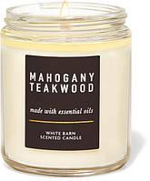 Свеча ароматизированная Bath and Body Works Mahogany Teakwood Scented Candle 198 г