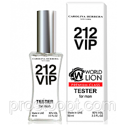Тестер Premium Class Carolina Herrera 212 Vip Men мужской, 60 мл