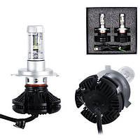 Светодиодные LED лампы для фар автомобиля X3-H4