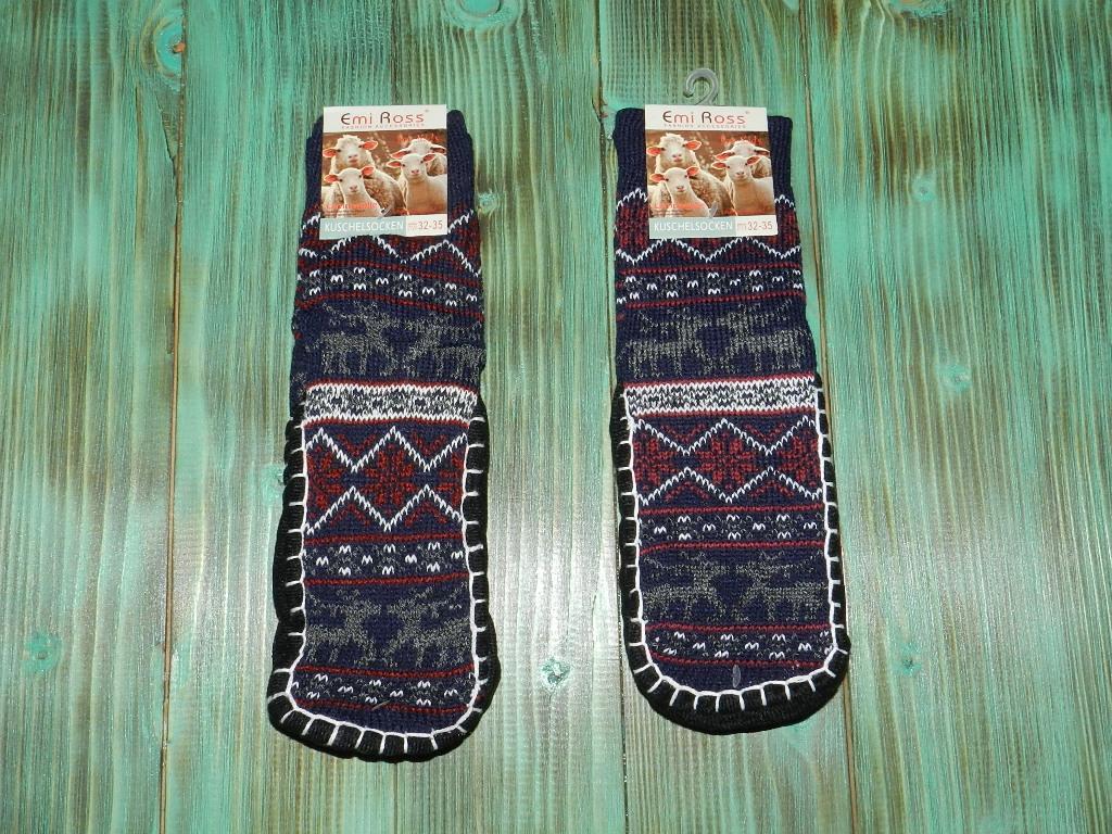 Носки с подошвой 20-21 см (32-35 р.)