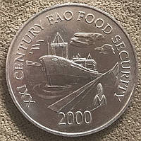 Монета Панамы 1 сентесимо 2000 г., фото 1