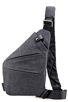 Мужская сумка слинг кобура Cross Body Black (4634)