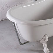 Слив/перелив для ванны Lady Hamilton, хром