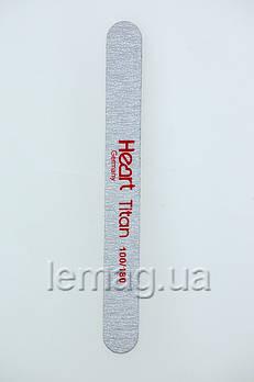 HEART Пилка для ногтей Line TITAN 100/180, 1 шт.
