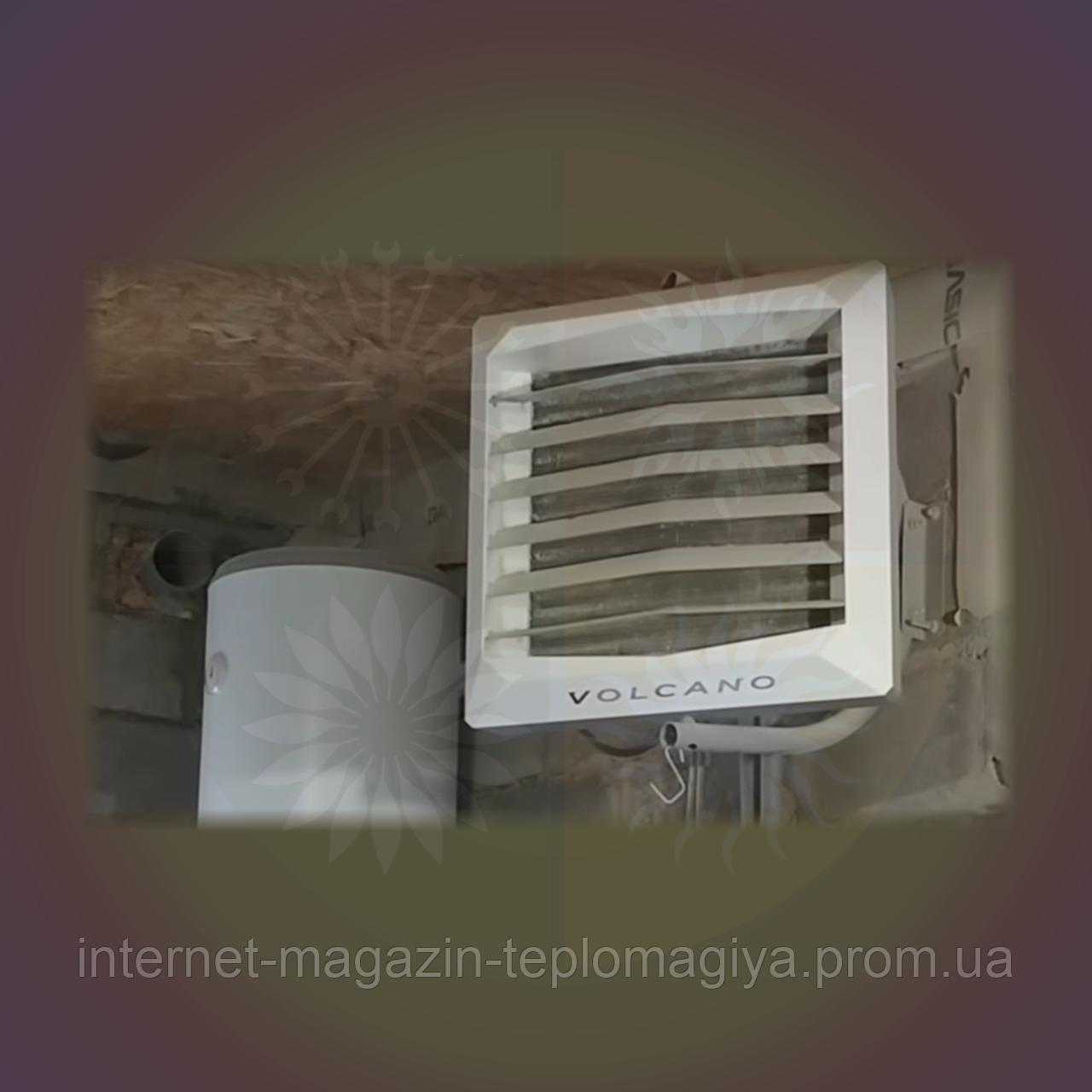 Тепловентилятор водяний Volcano VR MINI AC 3-20 кВт
