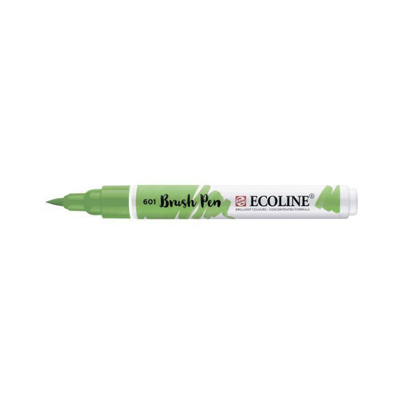 Ручка-пензлик Royal Talens Ecoline Brushpen 601 зелений світла 8712079388829