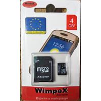Карта памяти WIMPEX microSD 4GB