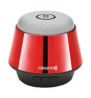 Портативная bluetooth MP3 колонка Rokono B10 BASS красная