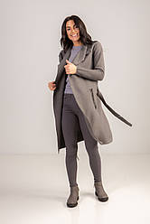 Женский кардиган длиною за колено с карманами в 2 цветах в размере S/M и L/XL