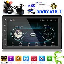 """IMars 7"""" 2DIN авто Магнитола Android 9.1, GPS, WIFI, Bluetooth + камера заднего вида"""