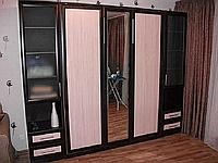 Шкаф-кровать в небольшую спальню со шкафом-купе, фото 1