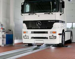 Тормозной стенд д/легковых и грузовых автомобилей NUSSBAUM