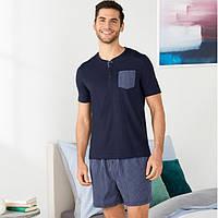 Мужская летняя пижама (домашний костюм), размер S