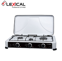 Газовая плита 3 конфорки Lexical White 4.7KW LGS-2813-1