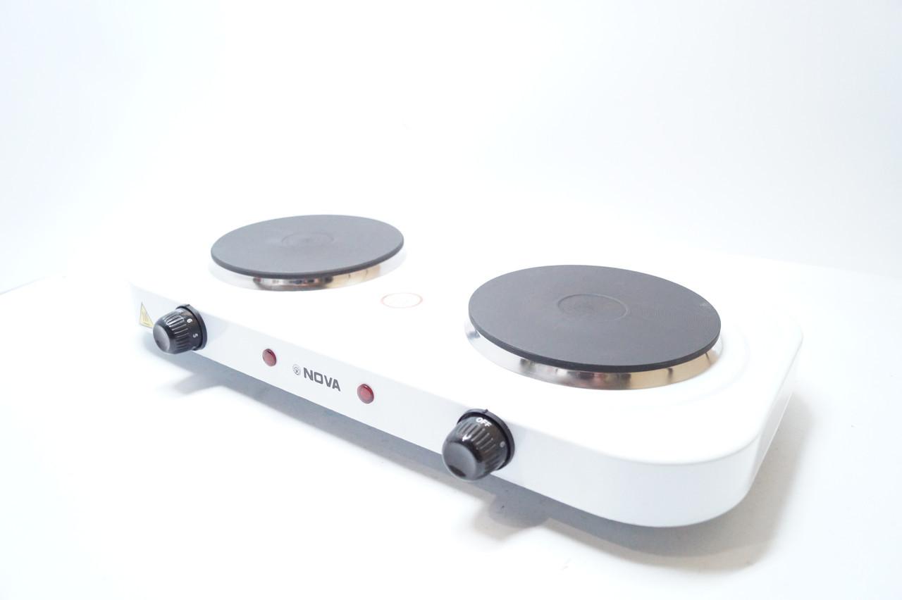 Электрическая плита 2 диска 2500w NOVA