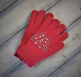 Дитячі в'язані рукавички 1321326723