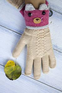 Дитячі рукавички Ведмедик 1321326727