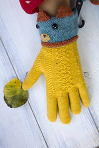 Дитячі рукавички Ведмедик 1321326729