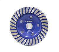 Алмазный шлифовальный диск (чашка) на УШМ 125х22,23мм Rapide TURBO TYPE . Бетон, гранит, камень.